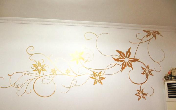 原创作品:手绘背景墙