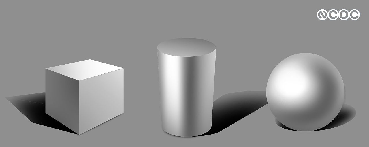 ps手绘板二维渲染-基础到复杂形体|工业/产品|电子|新