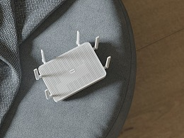 小米十周年新品 小米路由器渲染