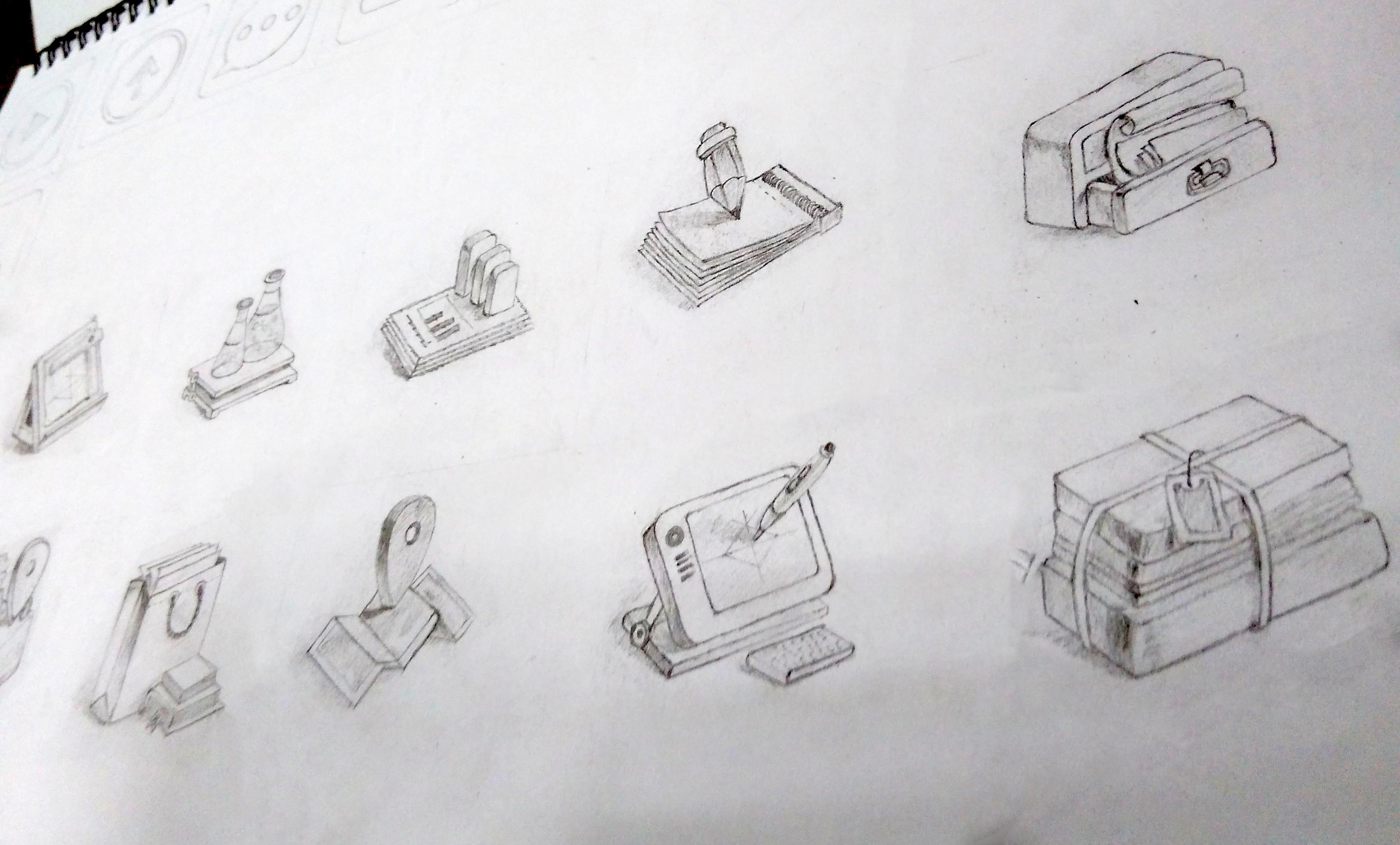手绘临摹|ui|其他ui |diary16 - 原创作品 - 站酷