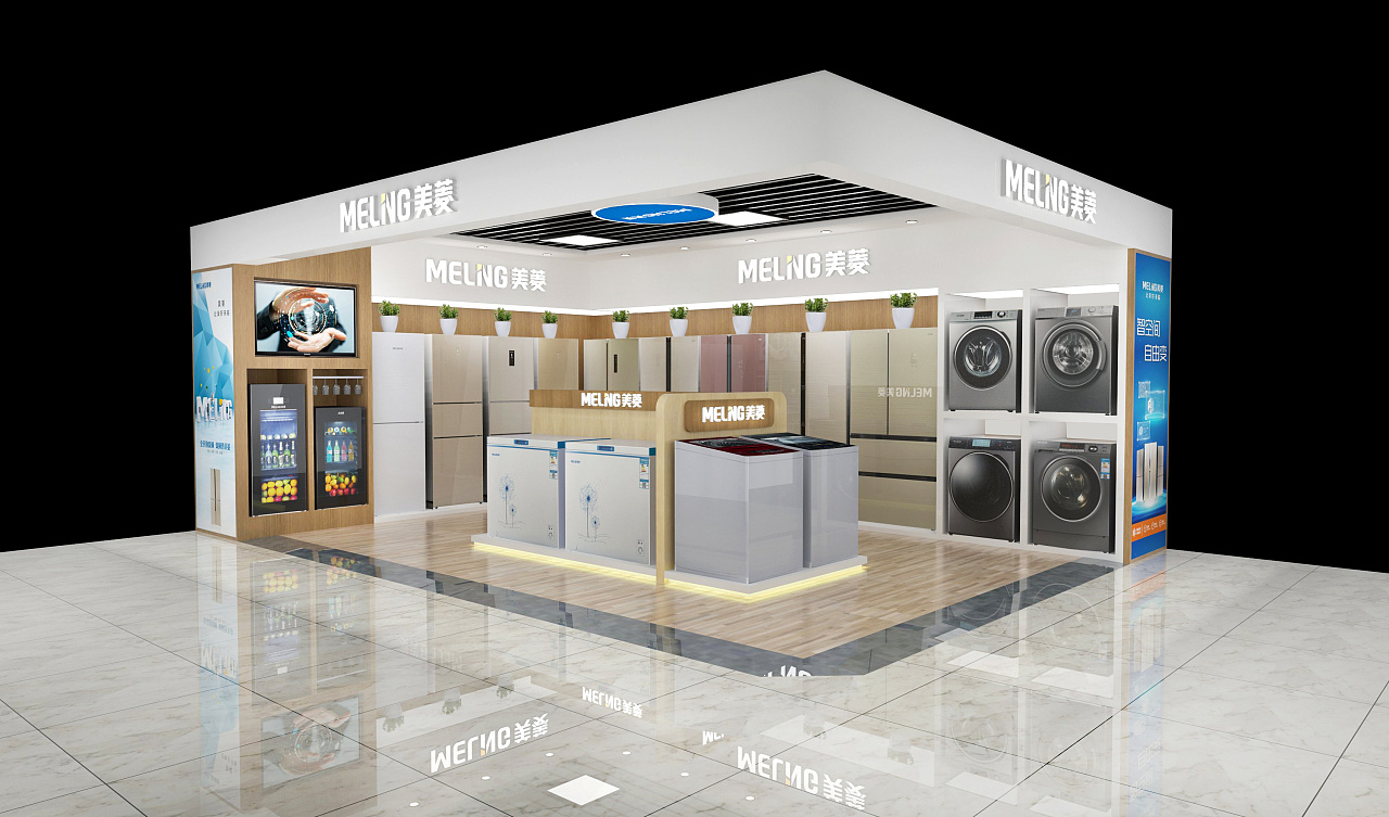 家电展台展厅设计|空间|展示设计 |ruijin - 原创作品