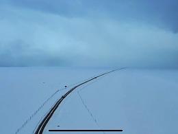 纳木措的雪