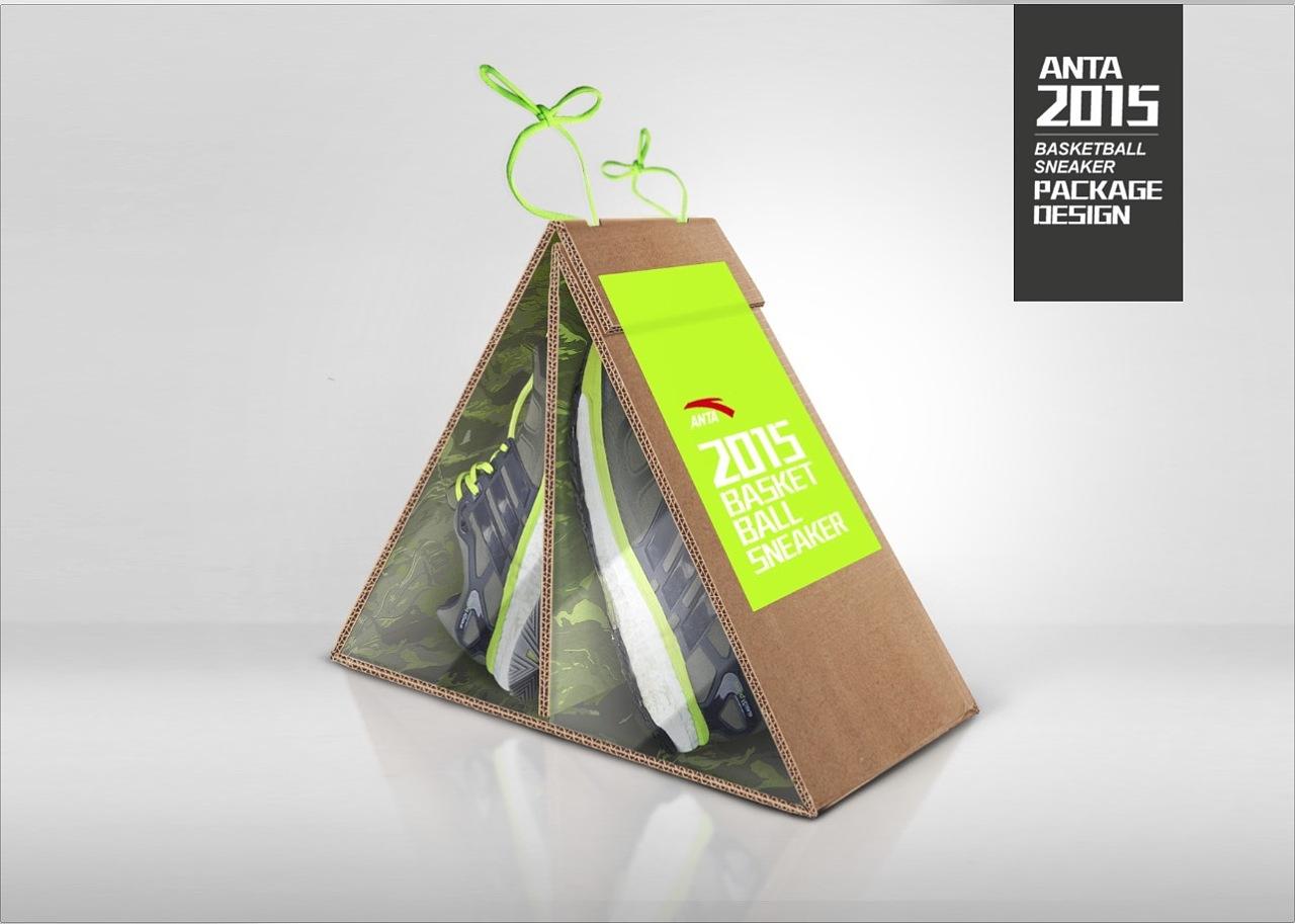 anta鞋盒设计图片