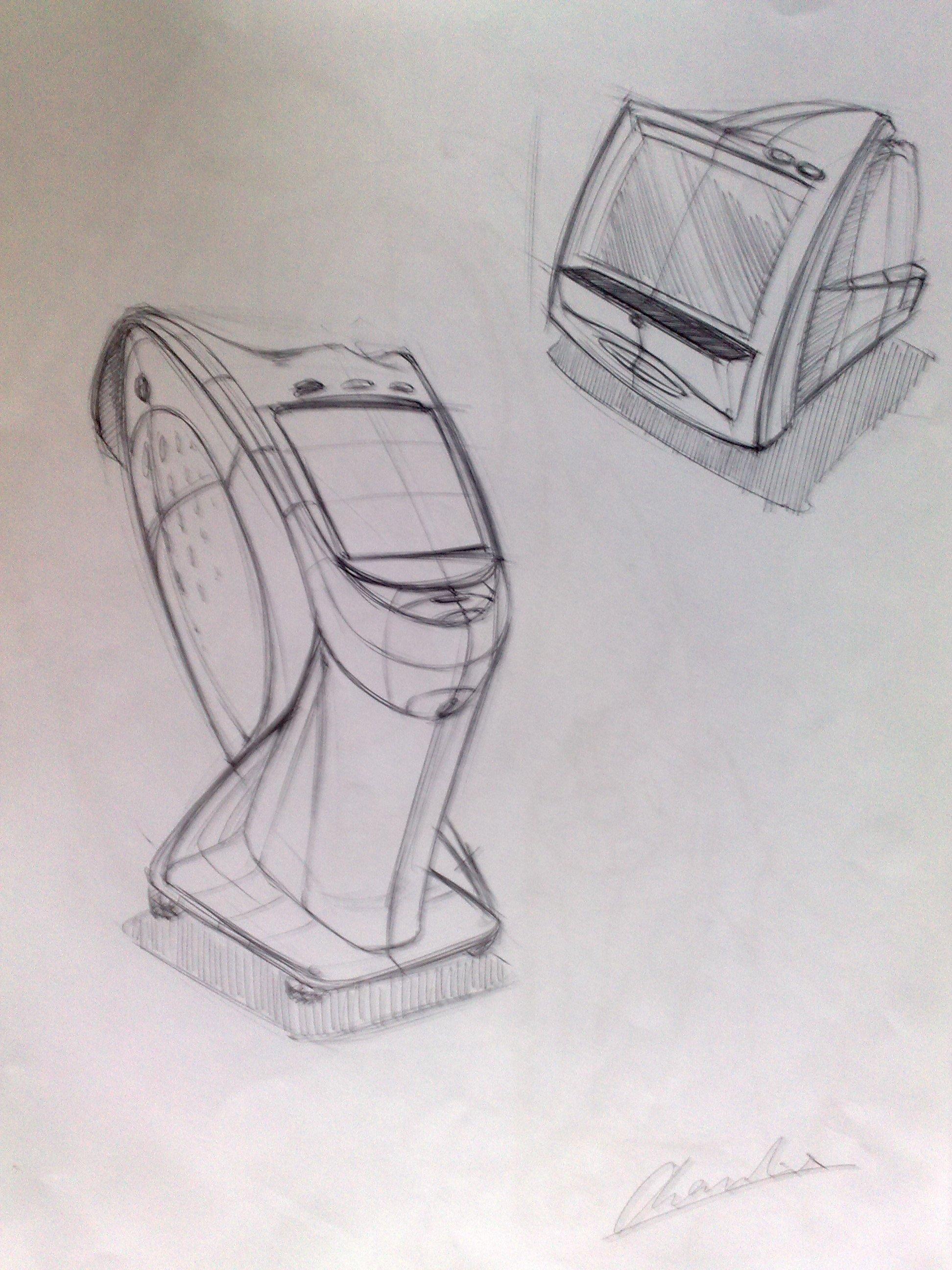 马克笔产品手绘|工业/产品|其他工业/产品|半圈心