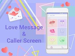 Love Message UI设计