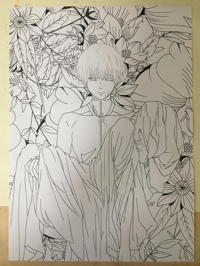 马克笔手绘东京嗜种