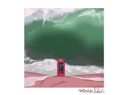 《Telephone booth》