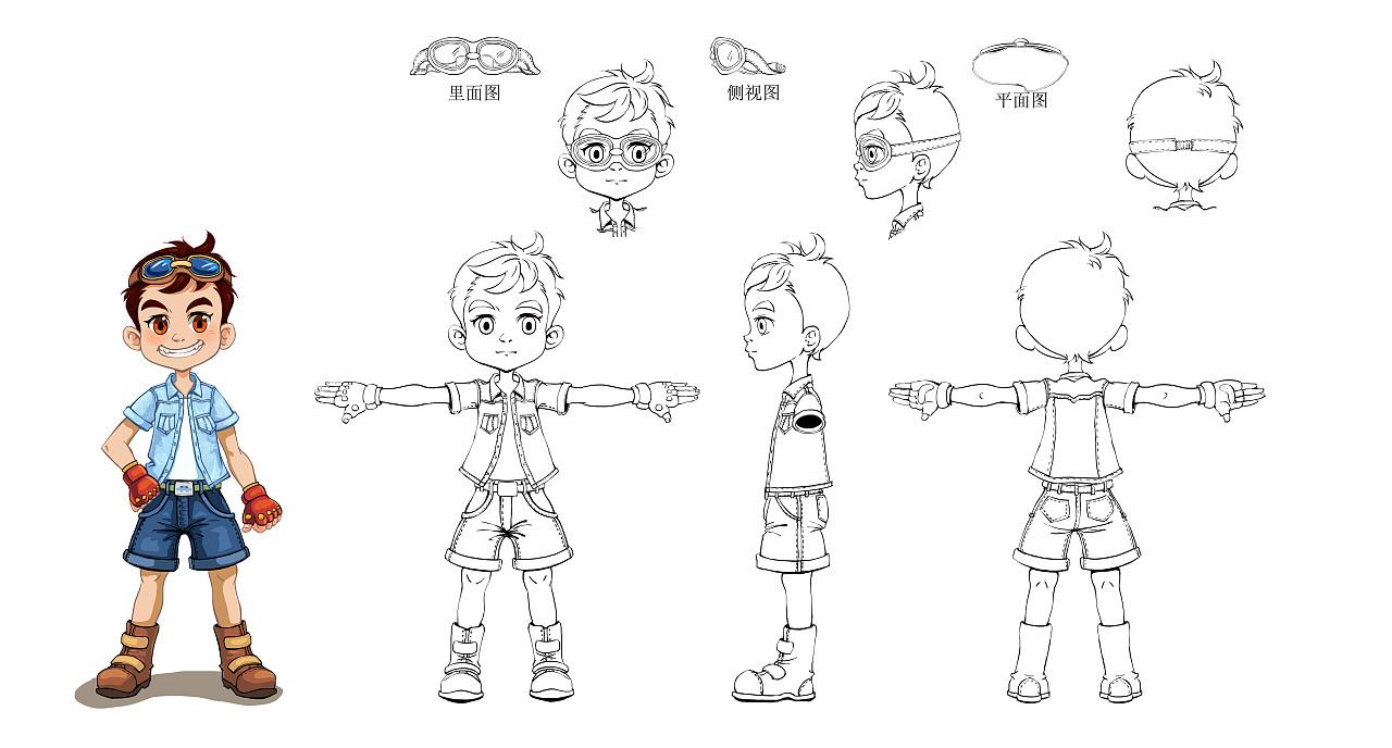 动漫人物设计|动漫|肖像漫画|redhot - 原创作品
