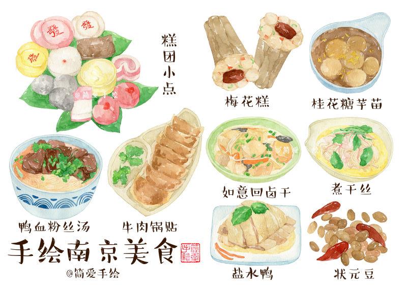 【纸上的记忆】寻找南京,游走旧美食的美食|商兰塔美食岛图片