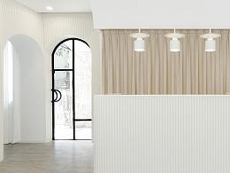 CERYNNE美容沙龙,柔和舒适的立体美学空间