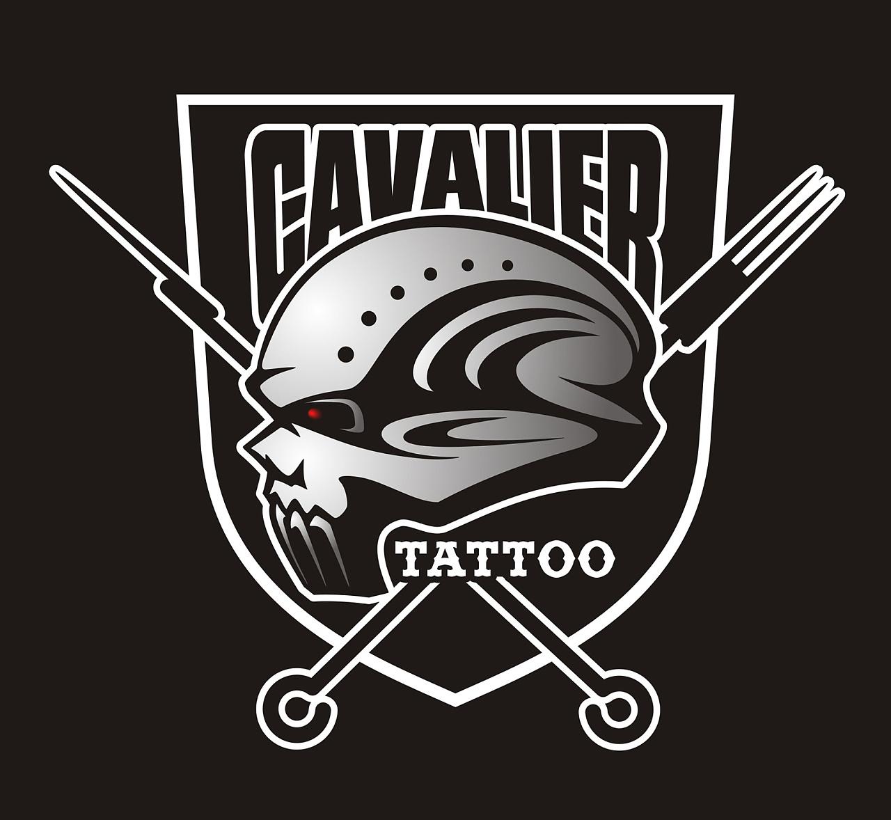 骑士纹身图片