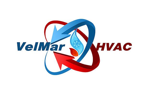 另一家HVAC公司的logo,图形设计体现制冷制热冷暖交替的专业内涵