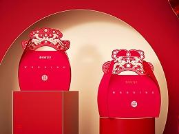 高鹏设计X爱哆哆——文创食品糖盒包装设计