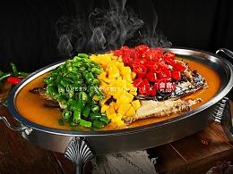 美食摄影-烤鱼