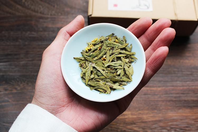 桂花龙井茶