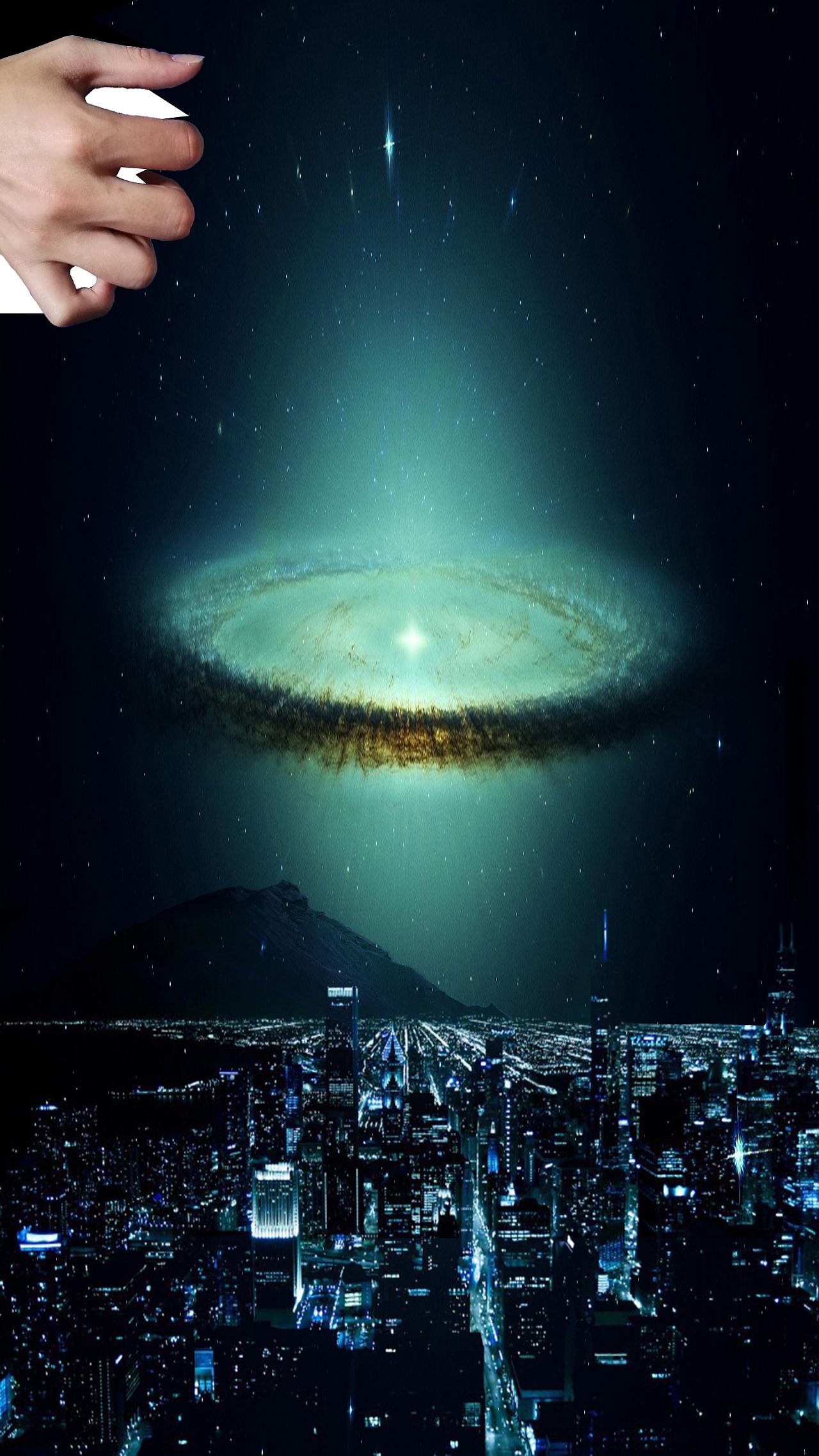 每一个生命个体组成的城市,正如每一个太空尘埃所组成的宇宙.