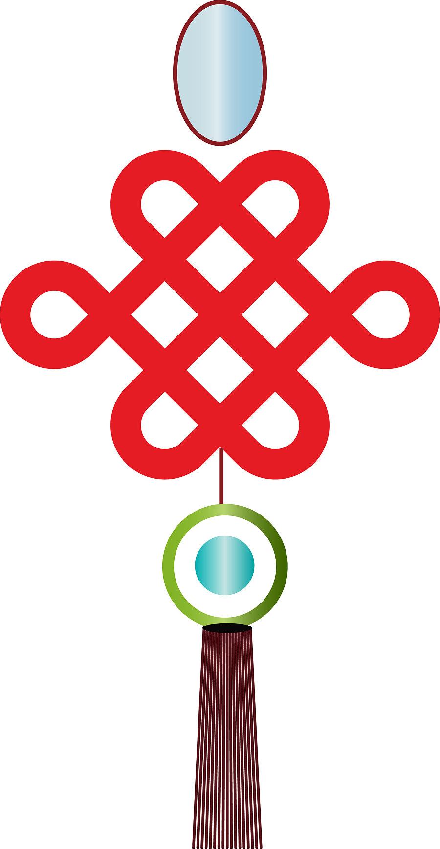 中国结|吉祥物|平面|yijiande - 原创设计作品 - 站酷图片
