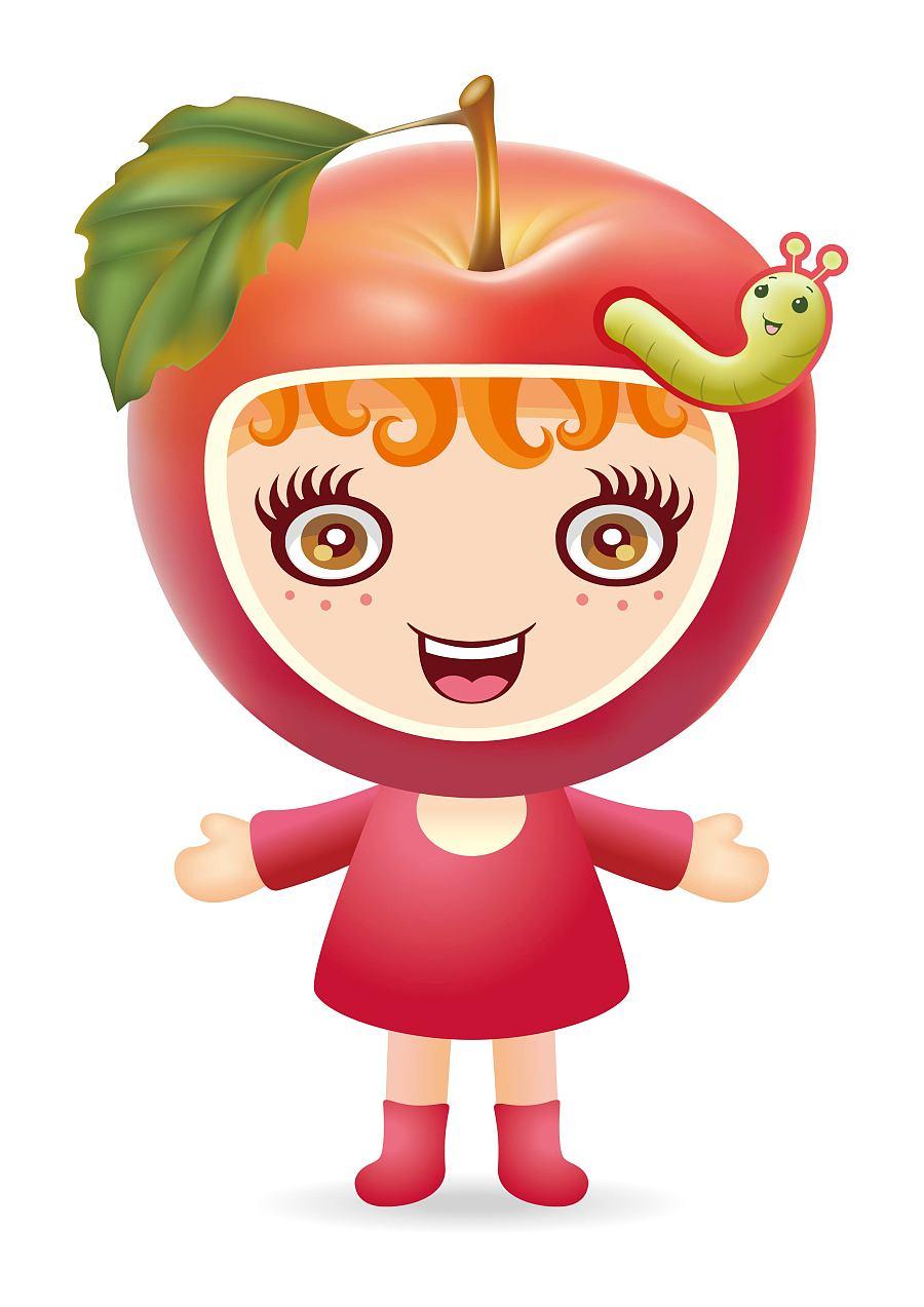 杭州宋城股份烂苹果乐园卡通形象征集入围奖图片