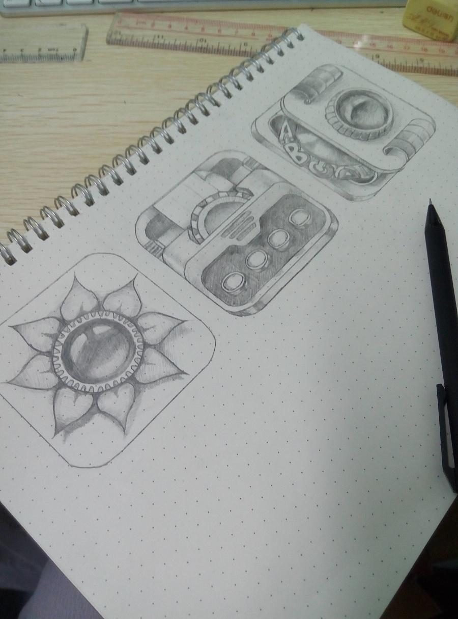 简单手绘|图案|平面|终生美丽啊 - 原创设计作品