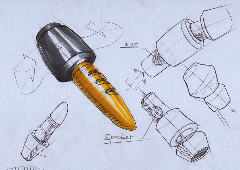 工业设计手绘手稿|工业/产品|其他工业/产品|黄飒carl