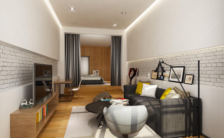 小型公寓复式楼设计图展示图片