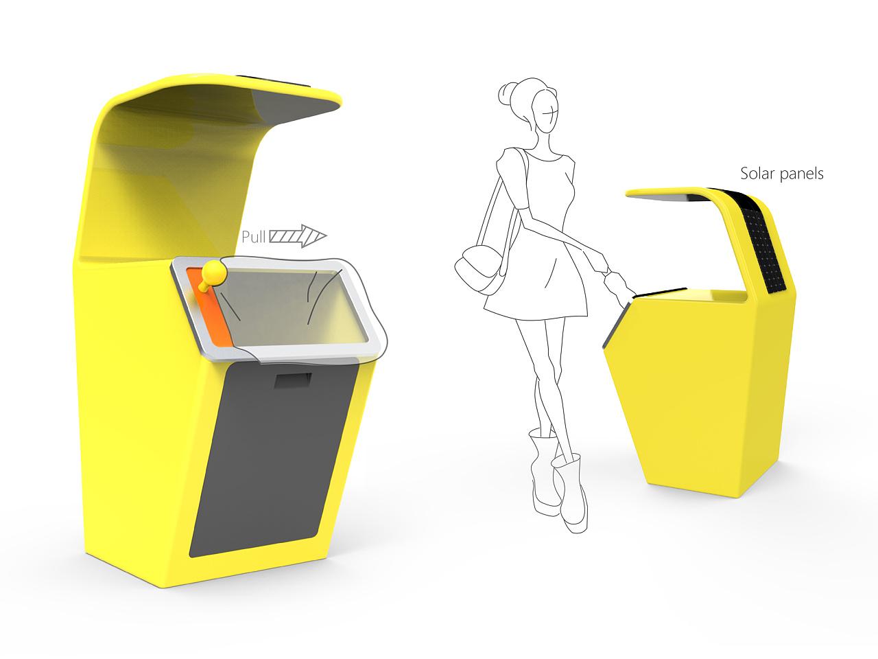 产品设计-自动打包垃圾桶设计