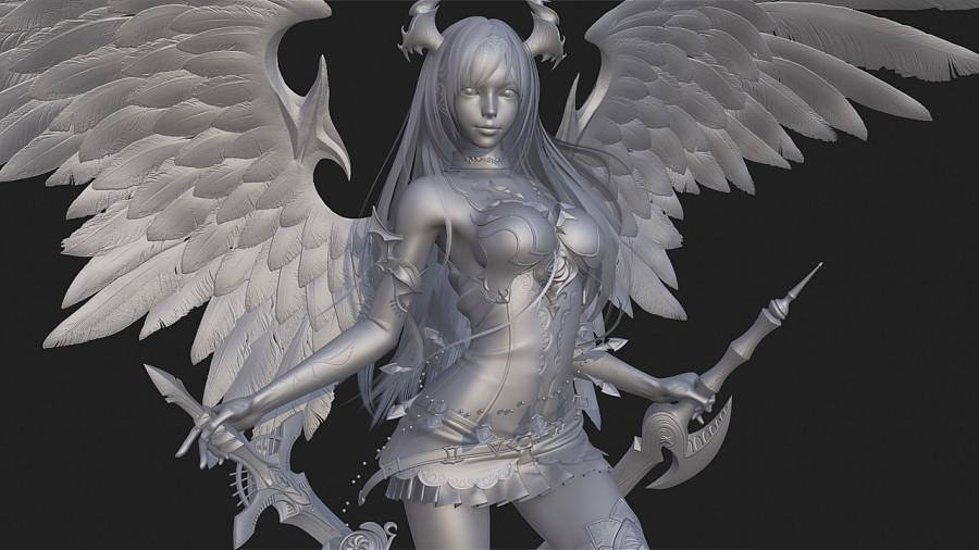 查看《 日韩风魅力角色《暗黑天使奥利维亚》》原图,原图尺寸:1280x720