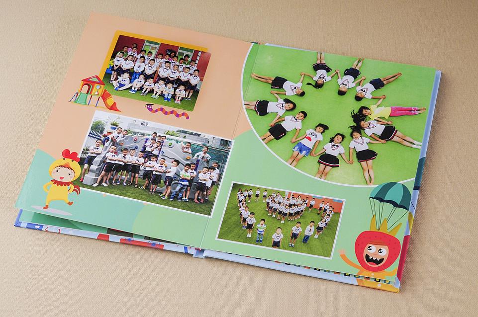 黄山幼儿园成长纪念册设计制作哪家好?顺时针纪念册设