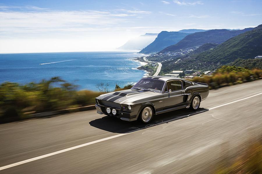 1967年福特野马shelbygt500急速60秒eleanor(渲染图)