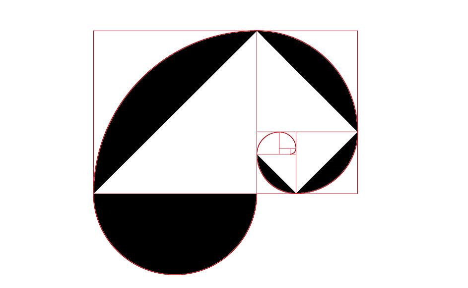 黄金分割大虾法平面练习绘制(创意+图形)|字体壹到拾的比例v大虾小象图片