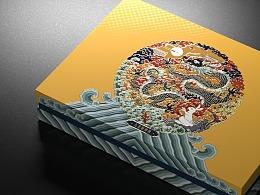 九龙聚仲秋月饼礼盒