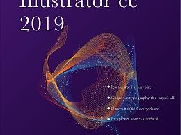 AI cc 2019书籍封面设计