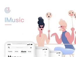 IMusic - 插画音乐APP