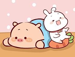 乐兔酱--微信表情和QQ表情上架了,欢迎大家下载使用