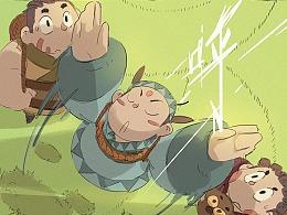 《阿木》第一章第4话:哎嗨嗨...在下阿木!