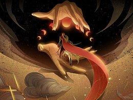 坠月之宴—浮世之缘 #恋与制作人#