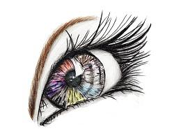 【驴大萌彩铅教程272】人物五官肖像素描 手绘眼睛