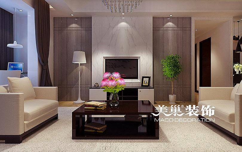 郑州中力湾公馆150平四室两厅新中式风格装修需要多少钱---电视背景墙图片