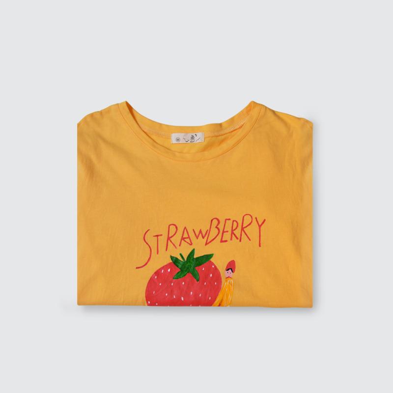 原创丙烯手绘t恤|涂鸦/潮流|插画|vivianliu - 原创