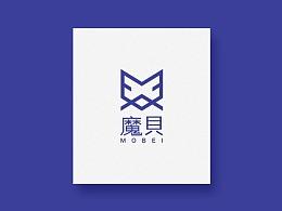 魔贝MOBEI标志设计