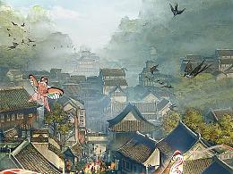 画江湖电影《风雨咒》海报