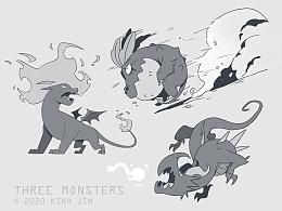 角色设定-怪物角色概念设计