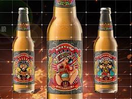 仙纳度精酿啤酒标