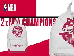 NBA冠军展衍生产品设计——火箭队 & 独行侠队