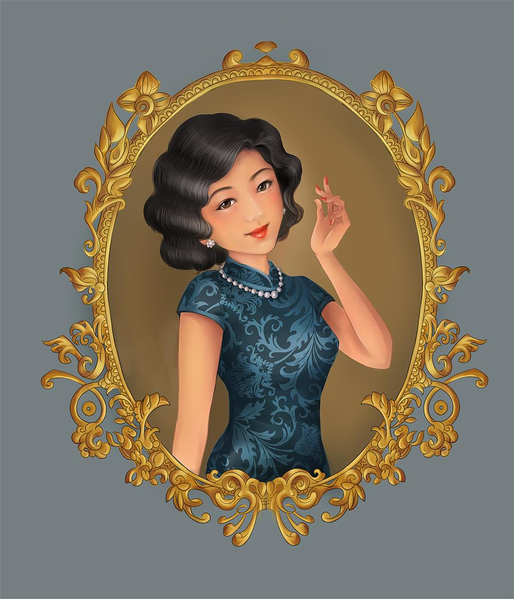 老上海女生头像