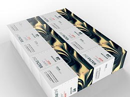 两款机油滤清器包装盒设计-悟杰高端视觉设计