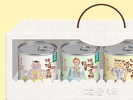 桂香源-水果罐头品牌与包装设计分享