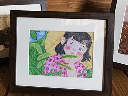忆童年框画赠送