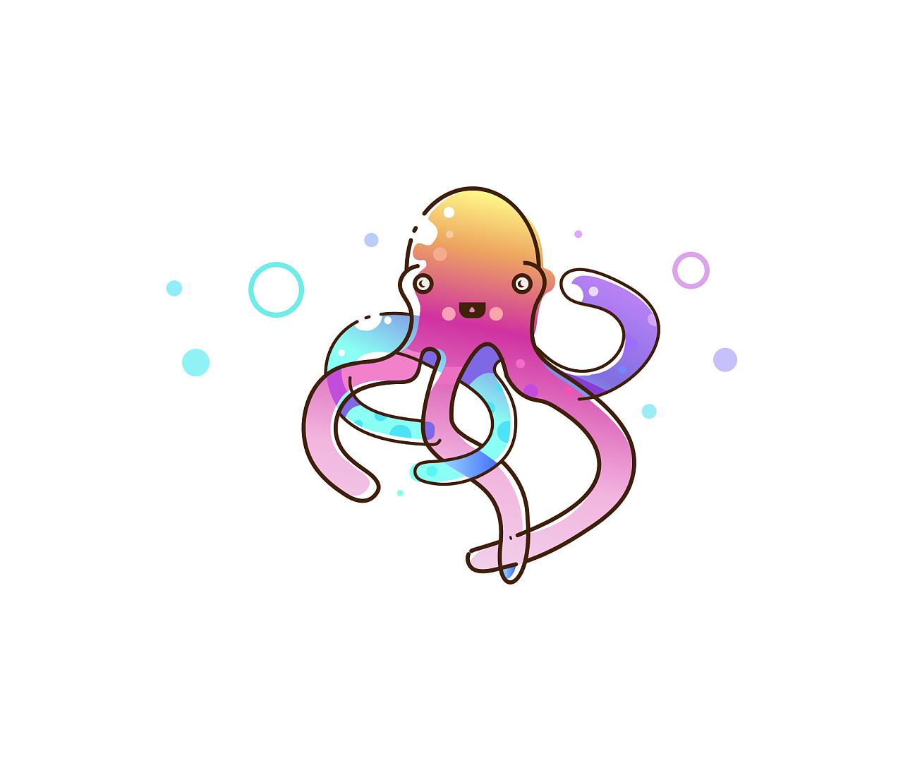 七彩小章鱼