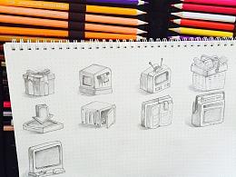 手绘icon练习